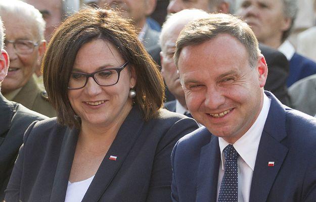 Małgorzata Sadurska i Andrzej Duda