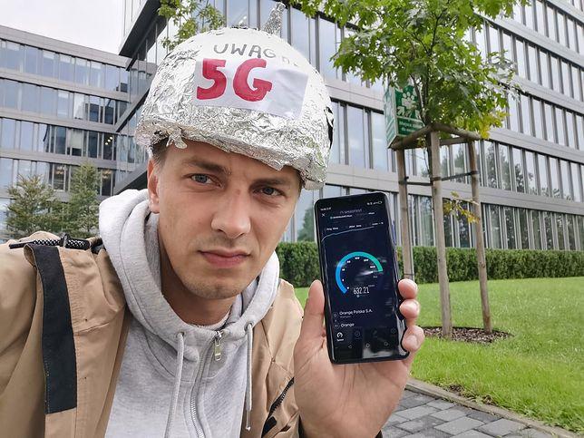 Jakub Wątor w poszukiwaniu sieci 5G