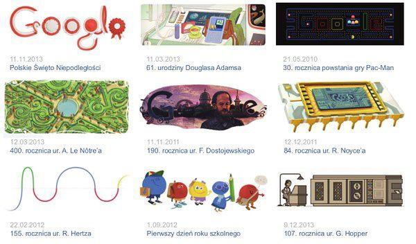 Logo na każdą okazję - skąd się wzięły szalone pomysły Google?