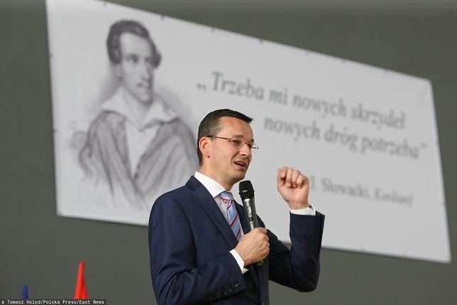 Premier Mateusz Morawiecki zdawał maturę w 1987 roku