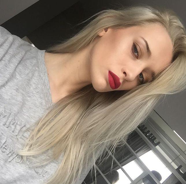 Aleksandra Sadkowska do niedawna była jasną blondynką. Teraz wygląda zupełnie inaczej