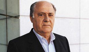 Amancio Ortega został najbogatszym człowiekiem na świecie. Pobił nawet Billa Gates'a