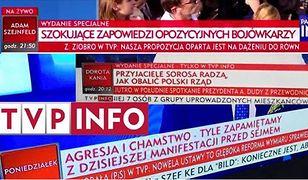 Paski informacyjne TVP.