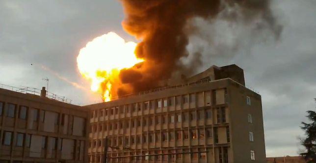 Lyon: seria wybuchów na kampusie uniwersyteckim (wideo)