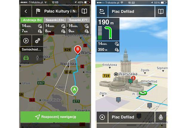 Aplikacja Panorama Firm - od teraz z darmową nawigacją
