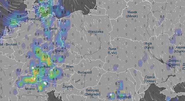 Pogoda 15 sierpnia o godz. 23. Deszcz pojawi się na zachodzie kraju