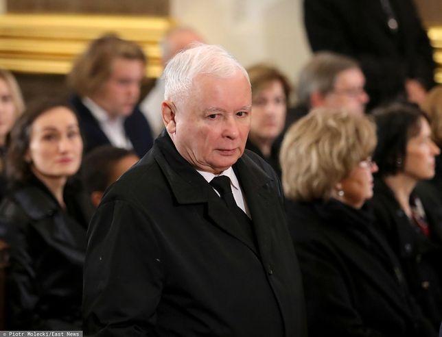 Jarosław Kaczyński pożegnał Kornela Morawieckiego