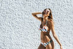 Najmodniejsze kostiumy kąpielowe na lato 2020. Anna Lewandowska wybrała bikini w groszki, a ty?
