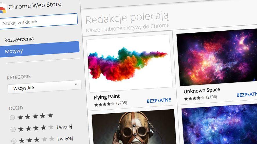 Zagrożenie w sklepie Chrome'a – motywy do przeglądarki mogą instalować malware