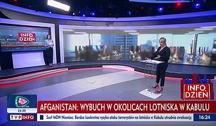 Wpadka na wizji. Dziennikarka TVN24 zaorała TVP Info