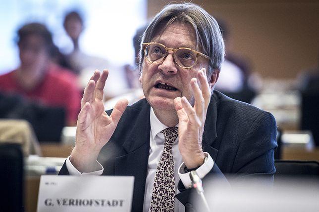 Verhofstadt znalazł się w 2015 r. na czarnej liście Kremla