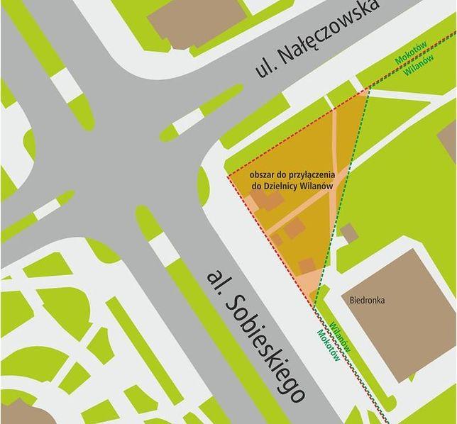 Burmistrz Wilanowa chce zmienić granice dzielnicy. Co dalej z Mokotowem?