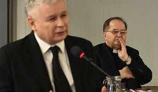 Prezes PiS Jarosław Kaczyński i ojciec Tadeusz Rydzyk.