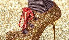Złoto na nogach - najnowszy trend!