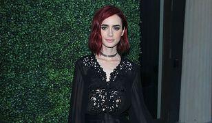 LOOK OF THE DAY: Lily Collins w stylizacji Zuhaira Murada