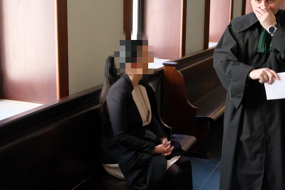 """""""Czekolinda"""" na procesie ws. agencji towarzyskiej """"Rasputin"""". Nie przyznaje się"""