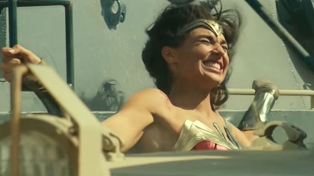 "Kadr z filmu ""Wonder Woman 1984"""