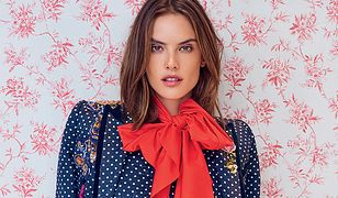 "Alessandra Ambrosio na okładce ""Vogue Brasil"""