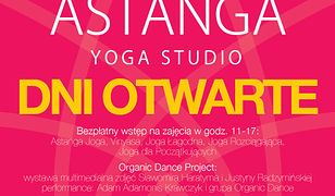 Za darmo: Dni Owarte w Astanga Yoga Studio