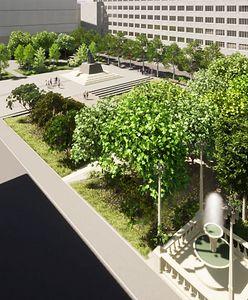Katowice. Miasto stawia na zieleń, zamiast parkingu będą drzewa i fontanna