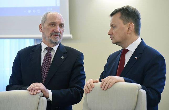 Antoniego Macierewicza zastąpił Mariusz Błaszczak