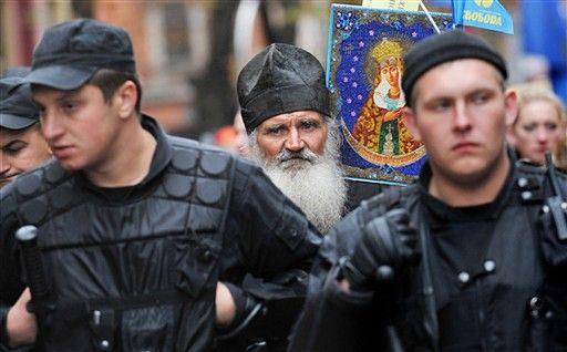 Zwolennicy UPA manifestowali w Kijowie