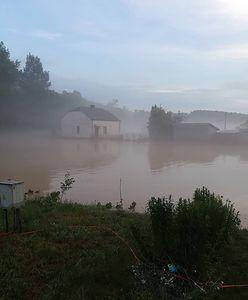 Nawałnica na Lubelszczyźnie.  350 podtopionych domów, ewakuowani ludzie, gmina bez prądu