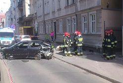 Wypadek na Wierzbięcicach w Poznaniu. Syn w areszcie, ojciec bez zarzutów