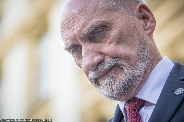 Antoni Macierewicz odszedł ze stanowiska szefa MON 9 stycznia 2018 roku