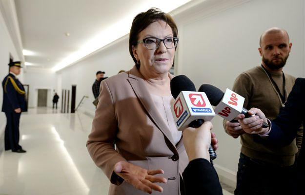 Ewa Kopacz: PO złoży wniosek o odwołanie marszałka Sejmu i przedstawi swój pakiet demokratyczny
