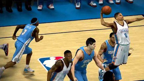 NBA 2K13 znów pokazuje innym grom sportowym miejsce w szeregu