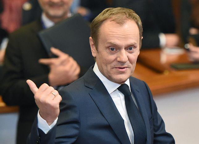 Tusk ostrzega przed nieprzestrzeganiem porozumienia z Mińska
