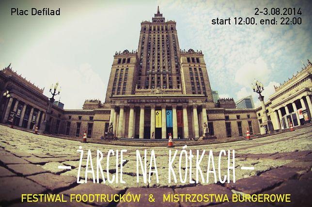 Festiwal Foodtrucków i Mistrzostwa Burgerowe na placu Defilad!