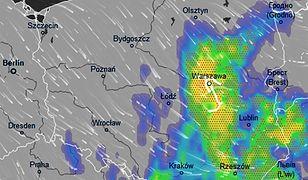Pogoda. Wieczorem strefa opadów obejmie znaczną część południowo-wschodniej Polski