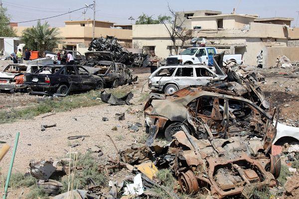 Jeden z serii zamachów (Kirkuk)