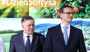 Krzysztof Jurgiel i Mateusz Morawiecki.