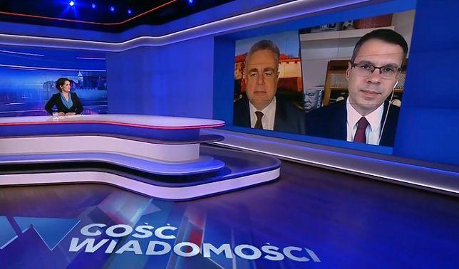 Tomasz Sakiewicz i Michał Karnowski aktywnie wspierają rząd na łach swoich mediów, ale nie w kwestii kampanii zachęcającej do szczepień