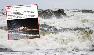 Wypadek polskiego jachtu przy wejściu do portu w Kłajpedzie. Jedna osoba nie żyje, jedna jest poszukiwana