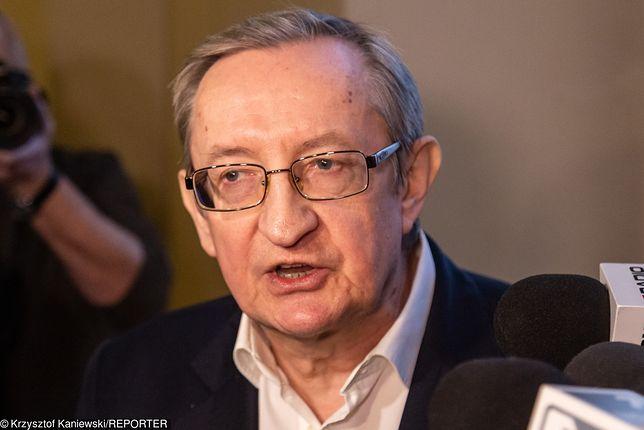 Wybory parlamentarne 2019. Józef Pinior zamierza ubiegać się o mandat w Senacie