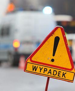 Warszawa. Zderzenie motocyklisty z samochodem