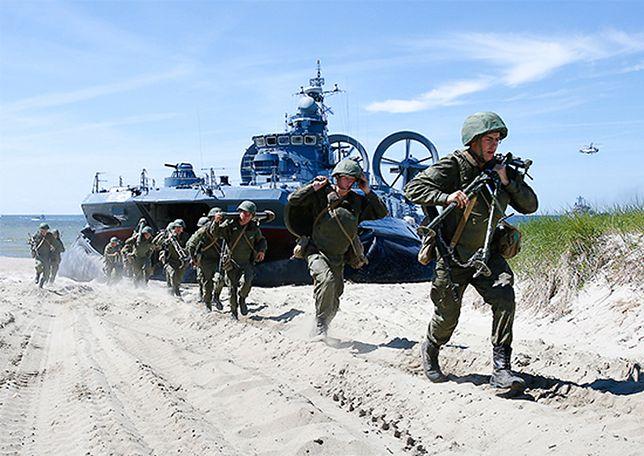 Rosjanie ćwiczą desant na plażach Bałtyku