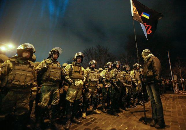 Starcia nacjonalistów z policją na Majdanie