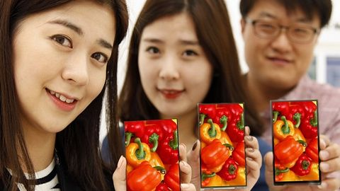 Nowe smartfony LG będą niemal pozbawione ramek