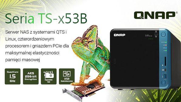 QNAP prezentuje serię TS-x53B – NAS-y z czterordzeniowymi CPU