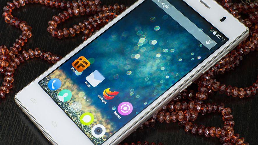 Smukły myPhone Infinity z płynnym Androidem w Biedronce za 599 zł