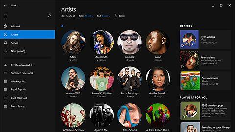 Muzyka w Windows 10 w nowym wymiarze, ale wciąż bez korektora