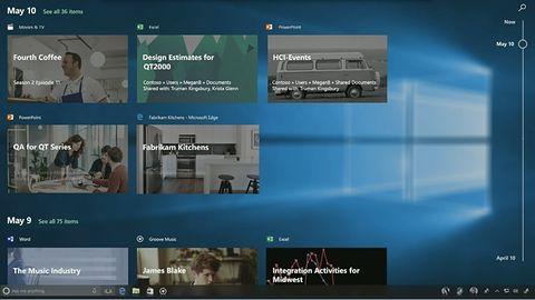 Windows Timeline: Microsoft zsynchronizuje wiele urządzeń dzięki Graph