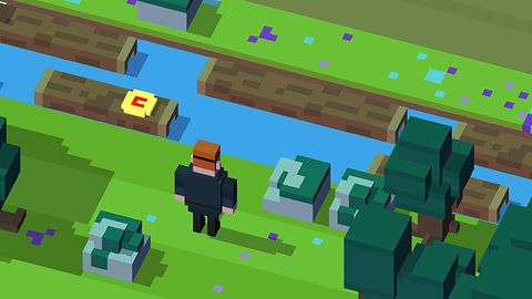 Disney Crossy Road na weekend: bajki w stylu Minecrafta