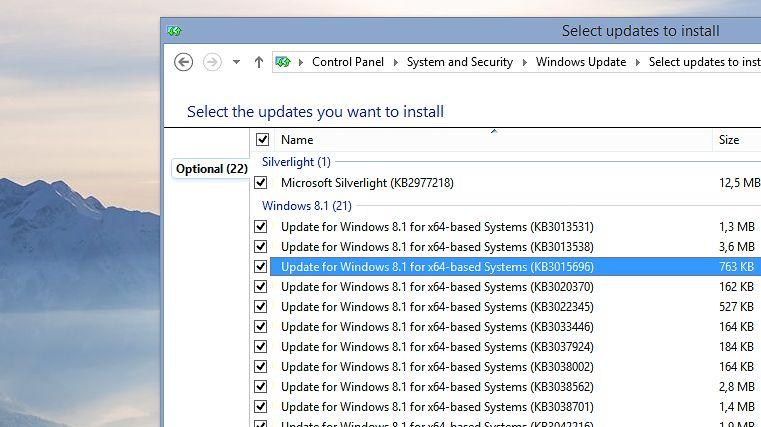 Microsoft wydał dużą paczkę opcjonalnych aktualizacji dla Windows