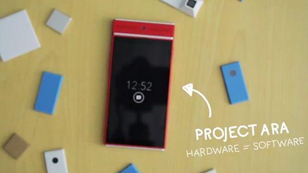 Smartfony Projektu Ara pozwolą na wymianę modułów w locie